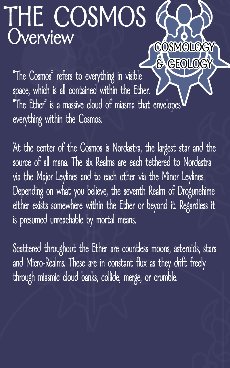 The Cosmos – Overview